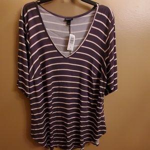 🎁NEW🎁Torrid striped dress Tee